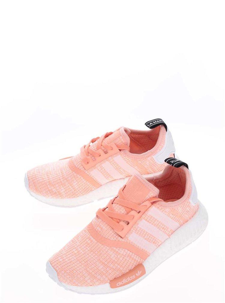 Neonově oranžové dámské tenisky adidas Originals NMD