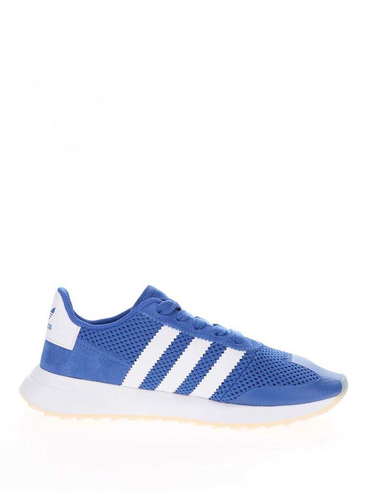Pantofi sport albastri adidas Originals Flashrunner pentru femei