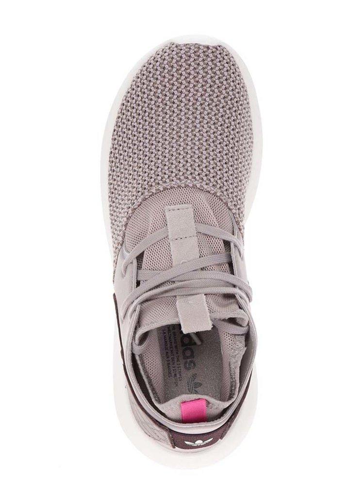 Světle hnědé dámské tenisky adidas Originals Tubular Entrap