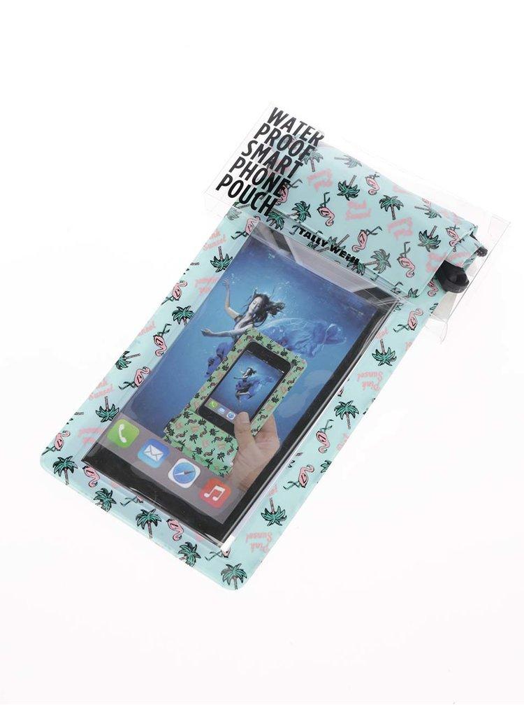Zelený voděodolný obal na iPhone TALLY WEiJL