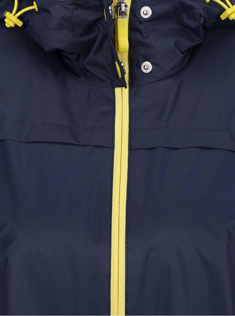 Jacheta lunga albastru inchis Geox impermeabila
