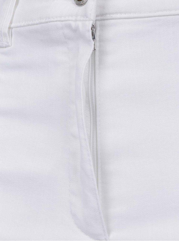 Bílé zkrácené kalhoty Ulla Popken
