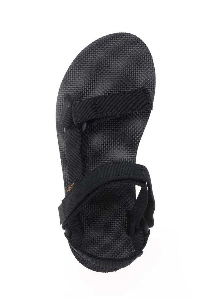 Černo-bílé dámské sandály na platformě Teva