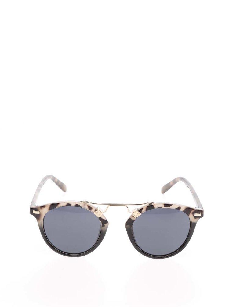 Černo-šedé vzorované sluneční brýle TALLY WEiJL