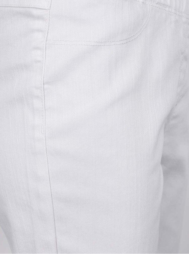 Bílé capri džíny Gina Laura