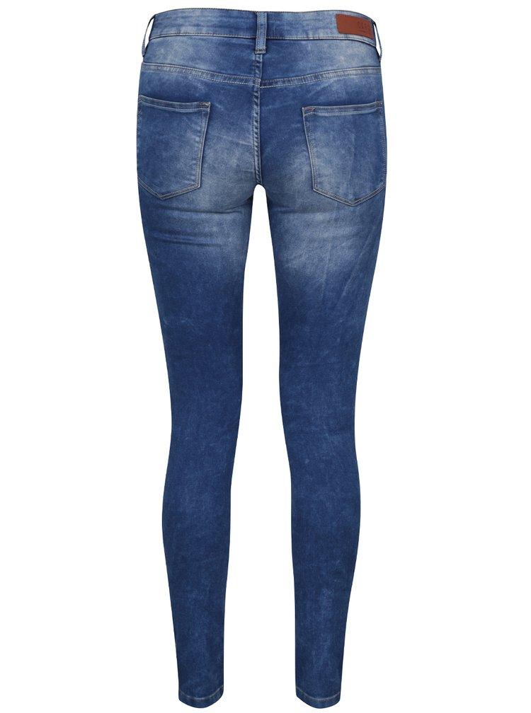Modré dámské skinny džíny Cars Tyra