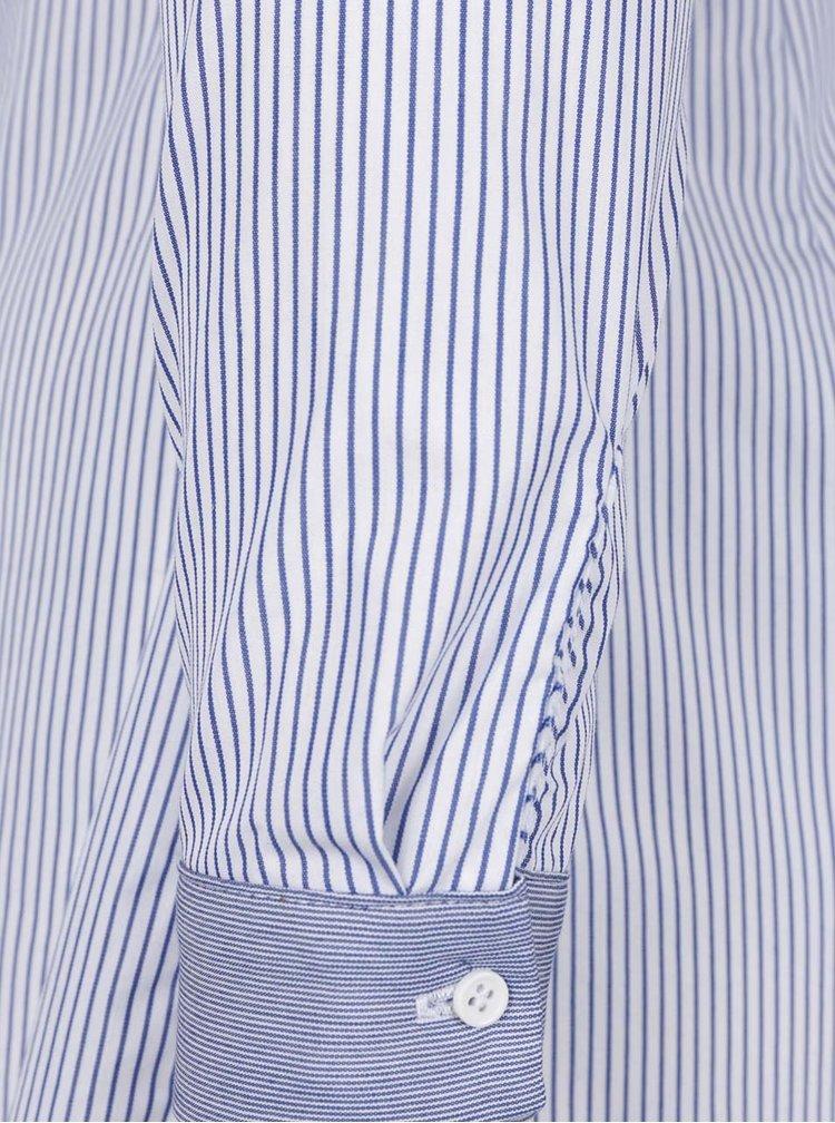 Bílo-modré košilové šaty TALLY WEiJL