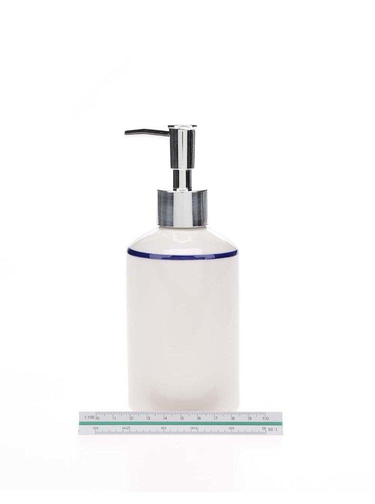 Bílý dávkovač na mýdlo s potiskem kotvy Sass & Belle