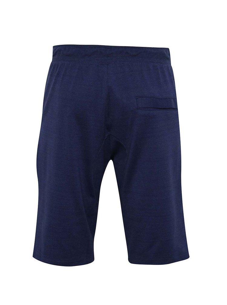 Pantaloni scurti albastri Nike Sportwear Advance 15 cu talie elastica