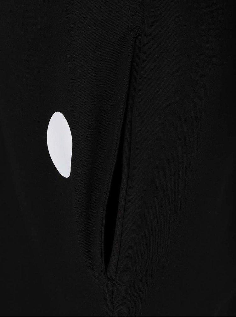 Rochie scurtă neagră Mikela da Luka cu print cu buline