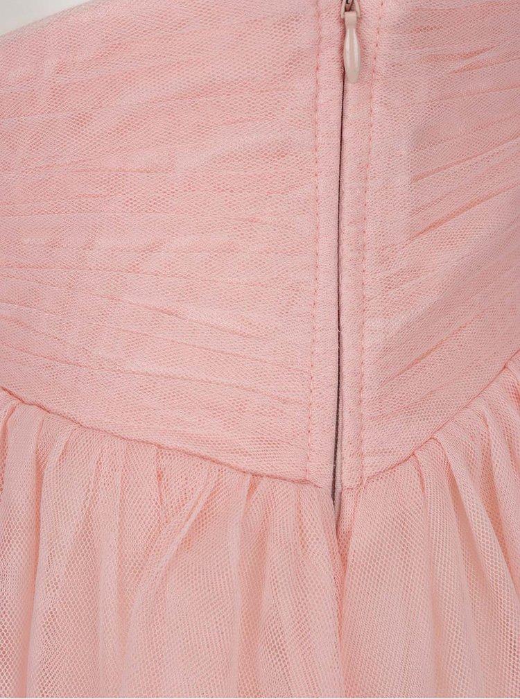 Růžová tylová sukně Little Mistress