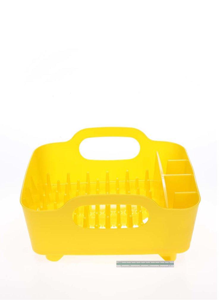 Žlutý odkapávač na nádobí Umbra