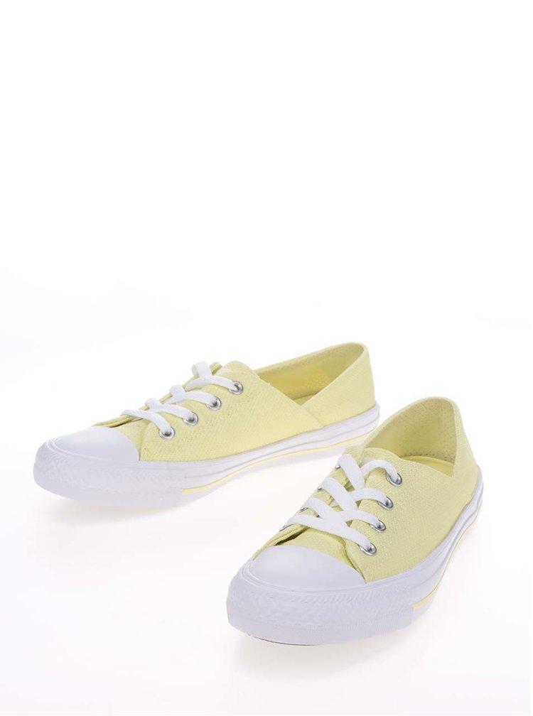 Žluté dámské tenisky Converse