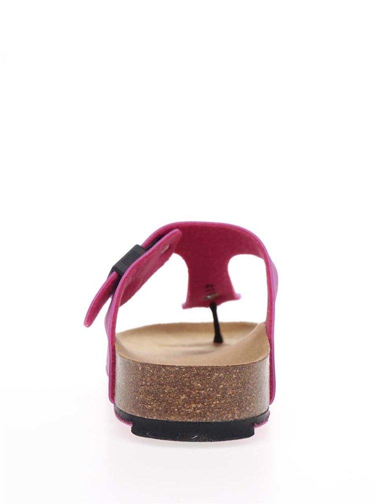 Růžové dámské zdravotní žabky Scholl Spikey