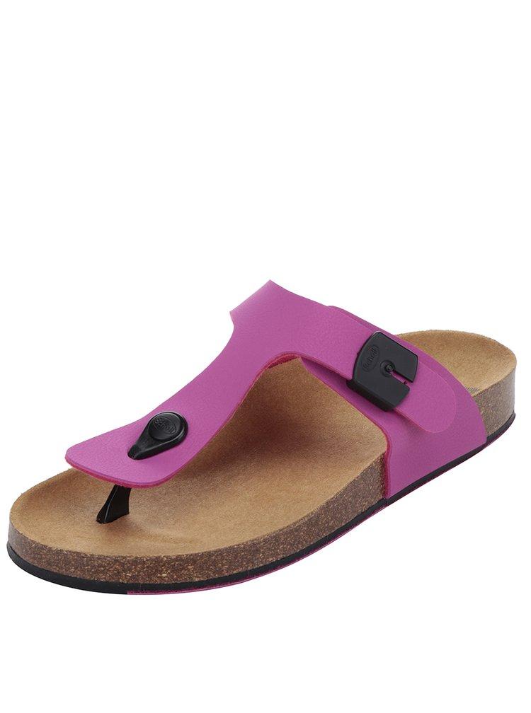 Papuci flip-flop roz Scholl Spikey