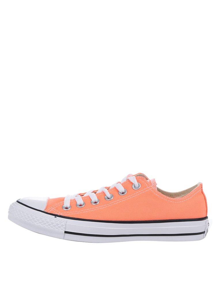 Oranžové dámské tenisky Converse