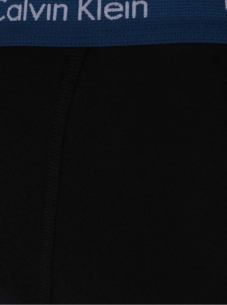 Set 3 perechi de boxeri negri Calvin Klein