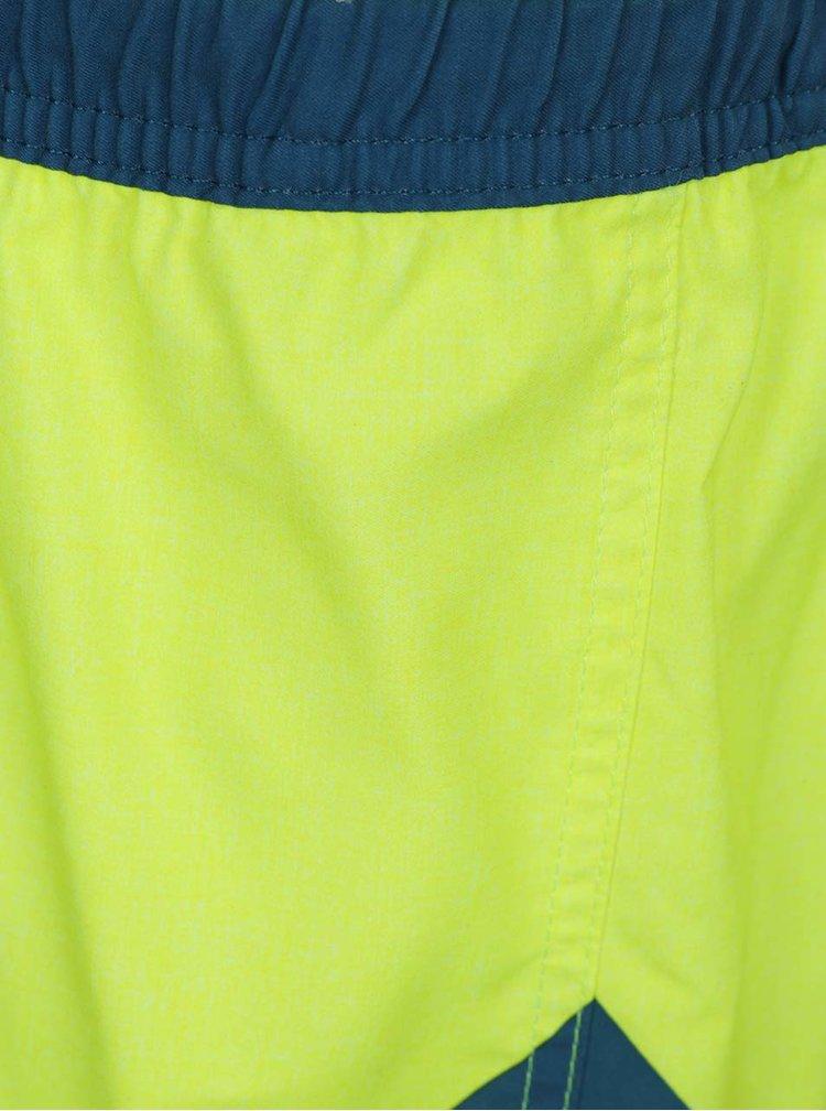 Modro-žluté klučičí plavky Quiksilver New Wave