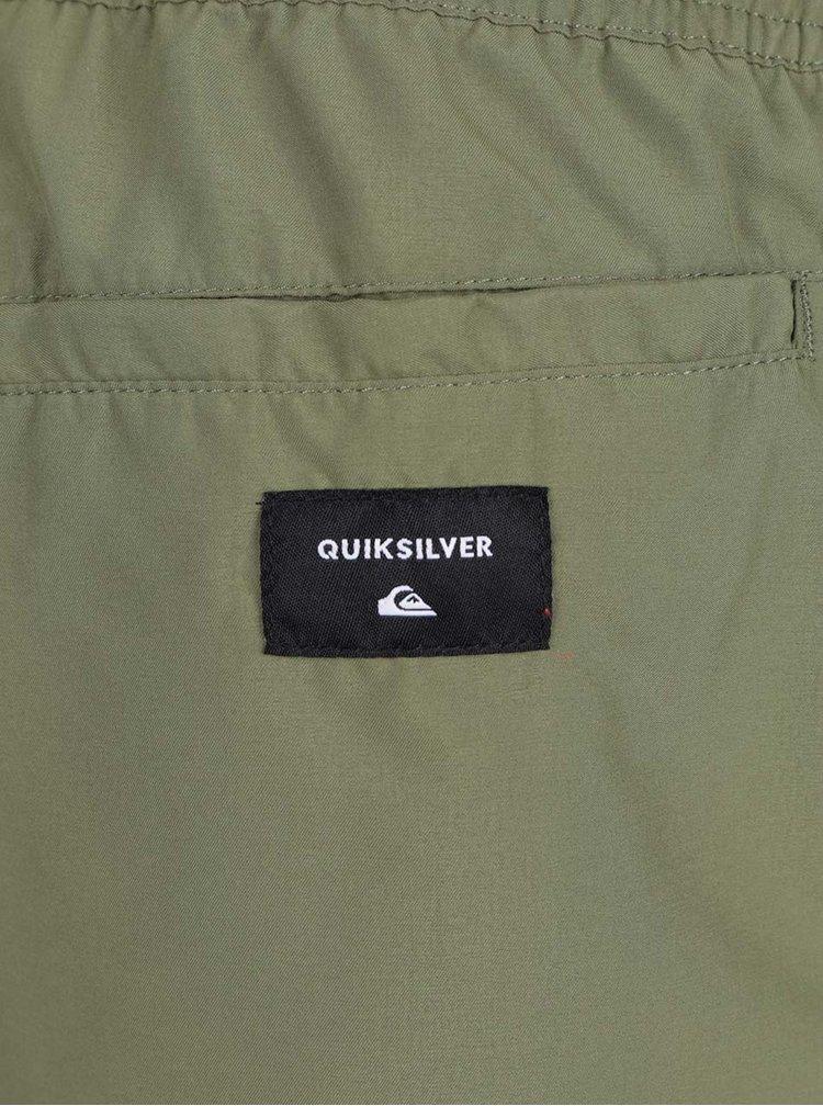 Zelené pánské plavky Quiksilver Every Solid