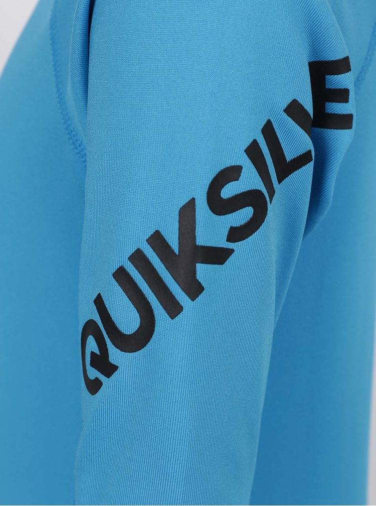 Modré klučičí plavkové triko Quiksilver All Time