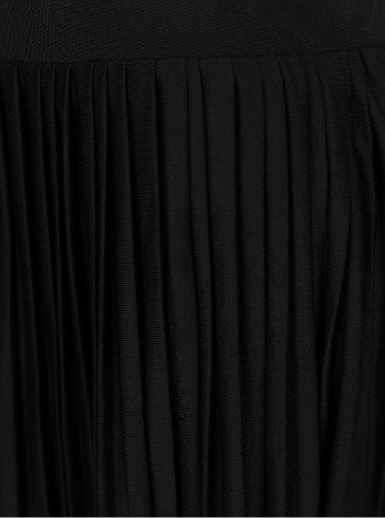 Fustă plisată neagră VERO MODA Molly