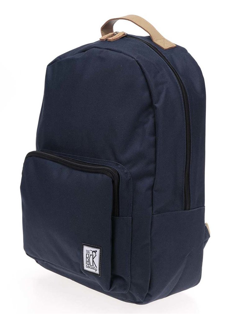 Tmavě modrý unisex batoh The Pack Society 18 l