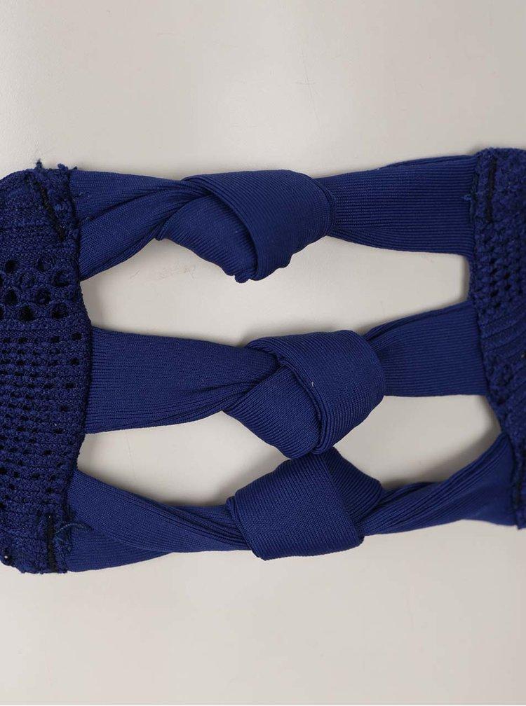 Tmavě modré dvoudílné plavky Roxy Drop