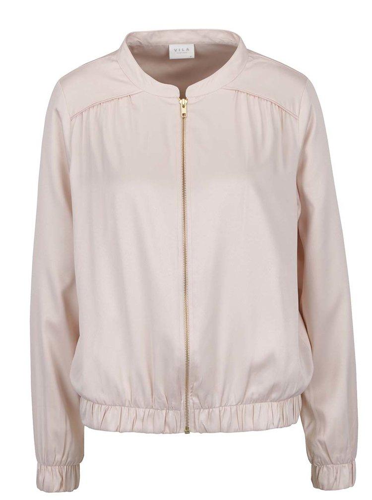 Jachetă bomber roz pal VILA Senza