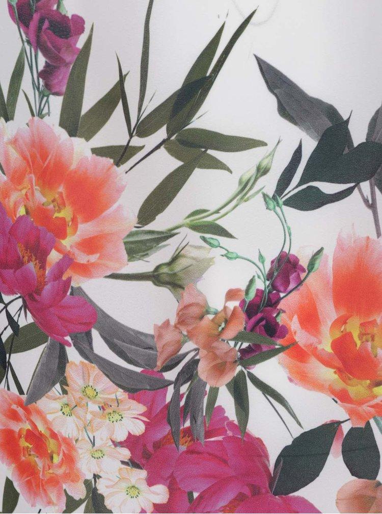 Krémová halenka s květovaným vzorem Dorothy Perkins Curve