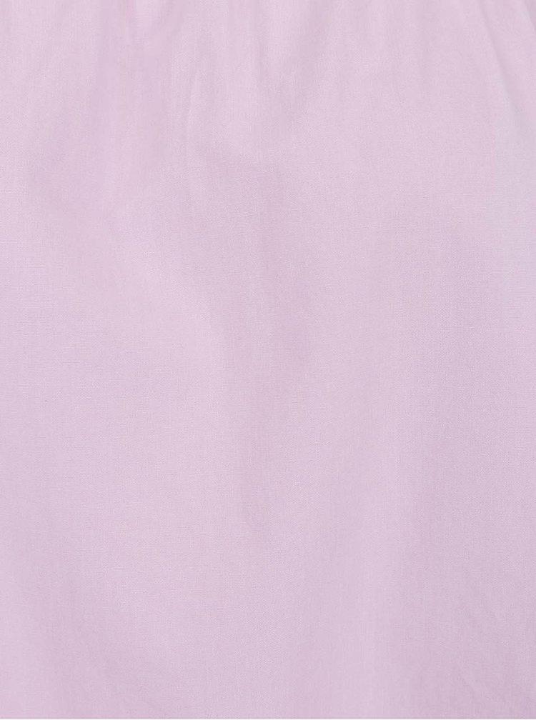 Světle fialová halenka s odhalenými rameny Dorothy Perkins