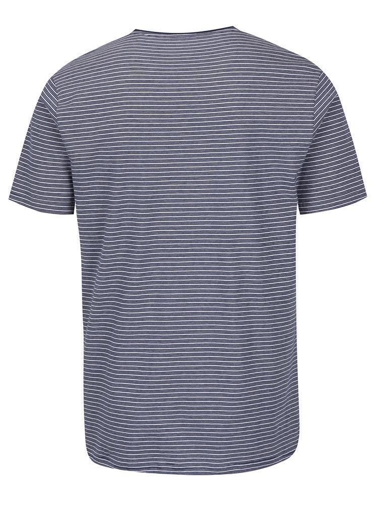 Bílo-modré pruhované triko ONLY & SONS Sejr