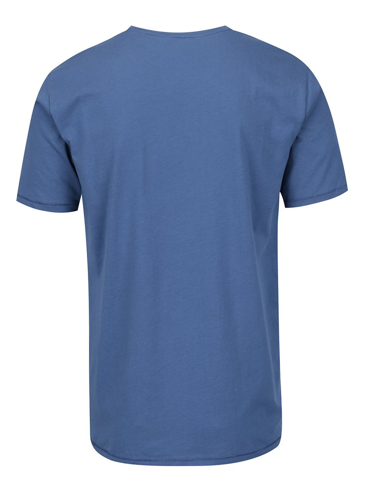 Tricou albastru ONLY & SONS Sandy cu print