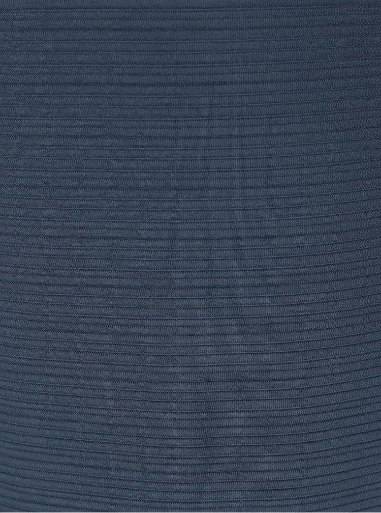 Cardigan albastru ONLY Leco cu model cu striatii