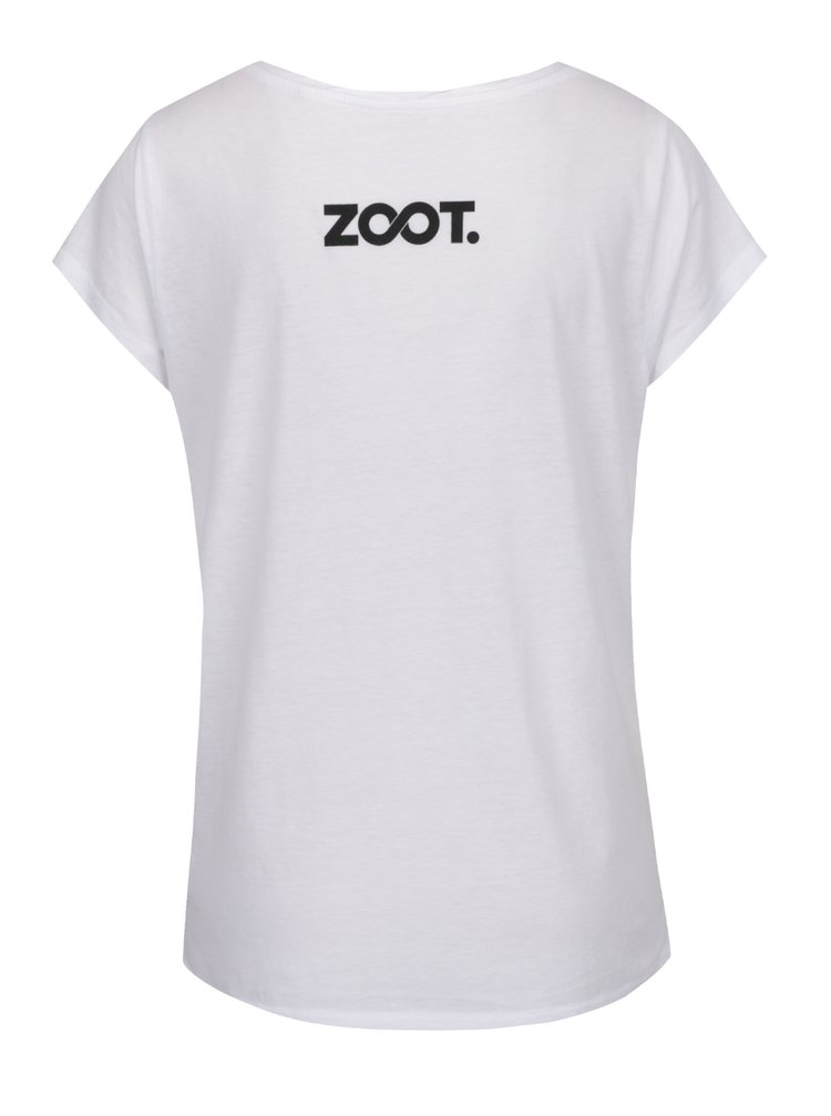 Bílé tričko s potiskem Batiste Fresh + DÁREK: suchý šampon