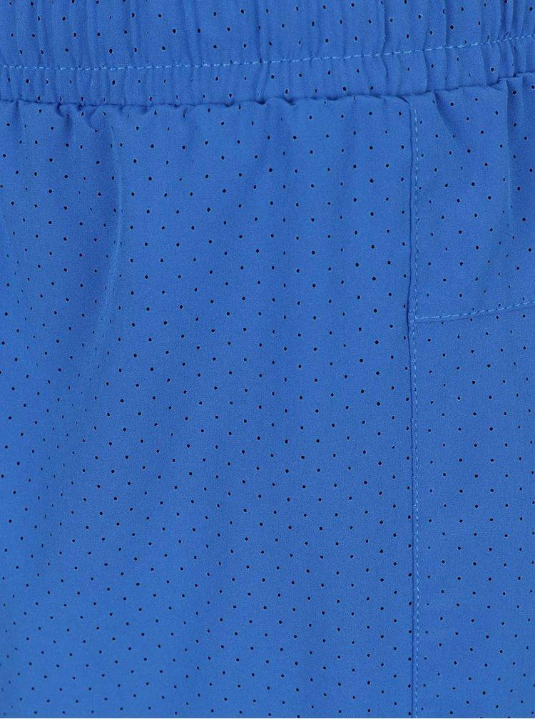 Modré perforované funkční kraťasy Jack & Jones Tech Turn