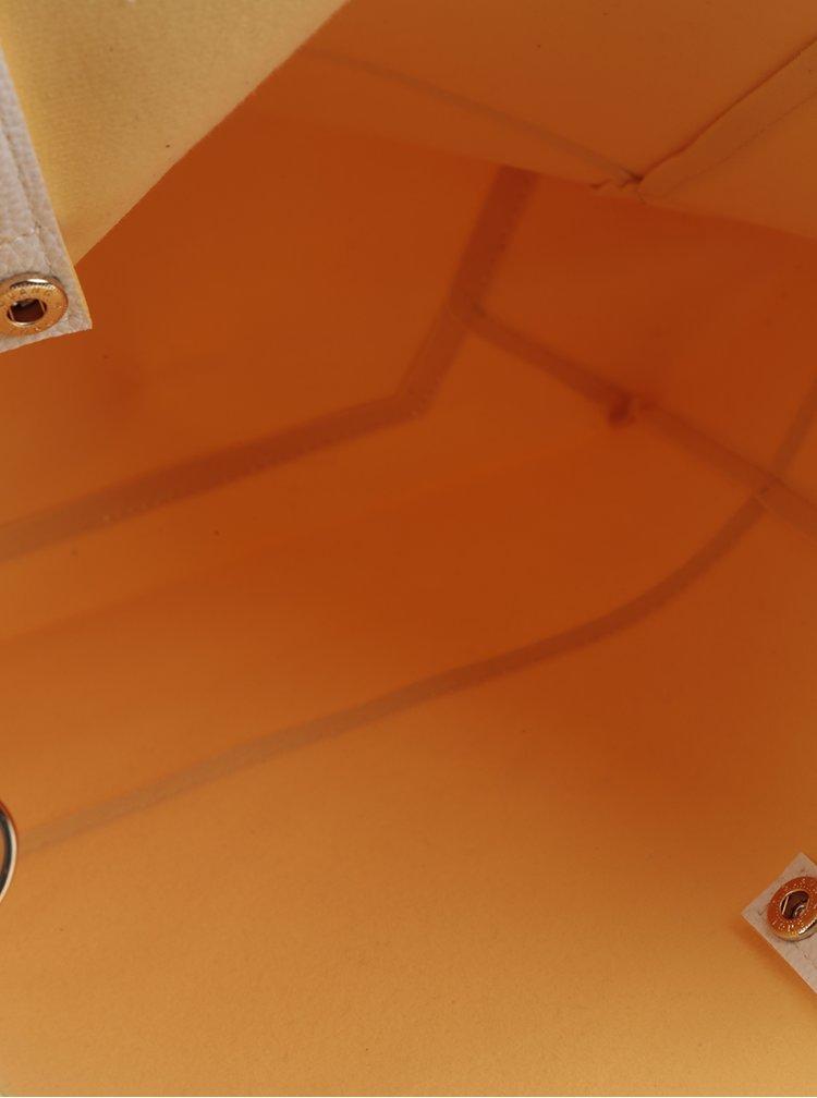 Krémová kabelka Fez by Fez Media