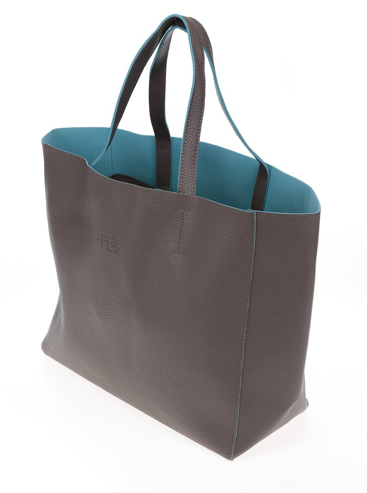 Hnědý shopper Fez by Fez Shopper