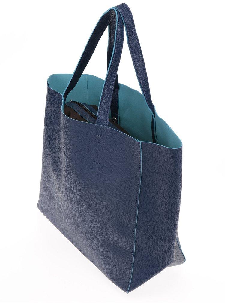 Tmavě modrý shopper Fez by Fez Shopper