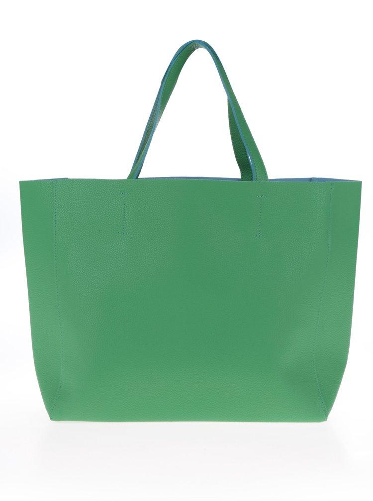 Zelený shopper Fez by Fez Shopper