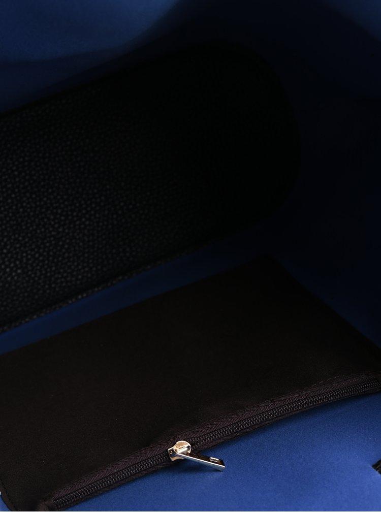 Černá vaková kabelka Fez by Fez Secchiello