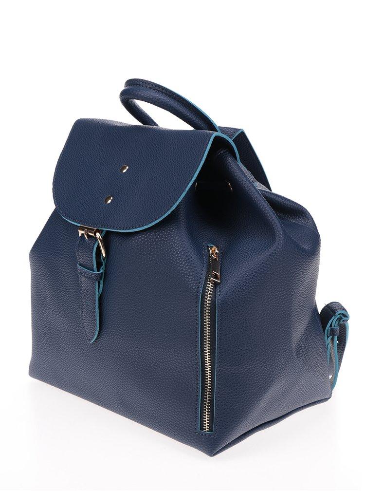 Modrý batoh se zipem Fez by Fez Zaino Zip