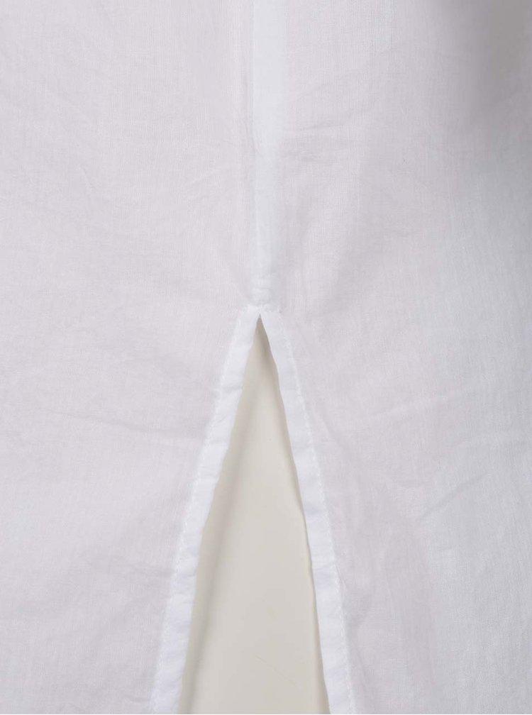 Bílá dámská volná košile s krajkou na zádech Broadway Fairlie