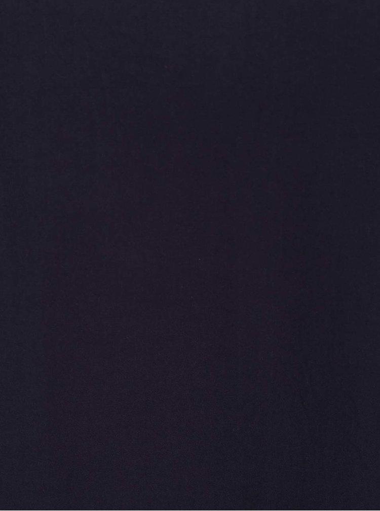 Tmavě modré tílko s rozparkem na zádech ONLY Nova