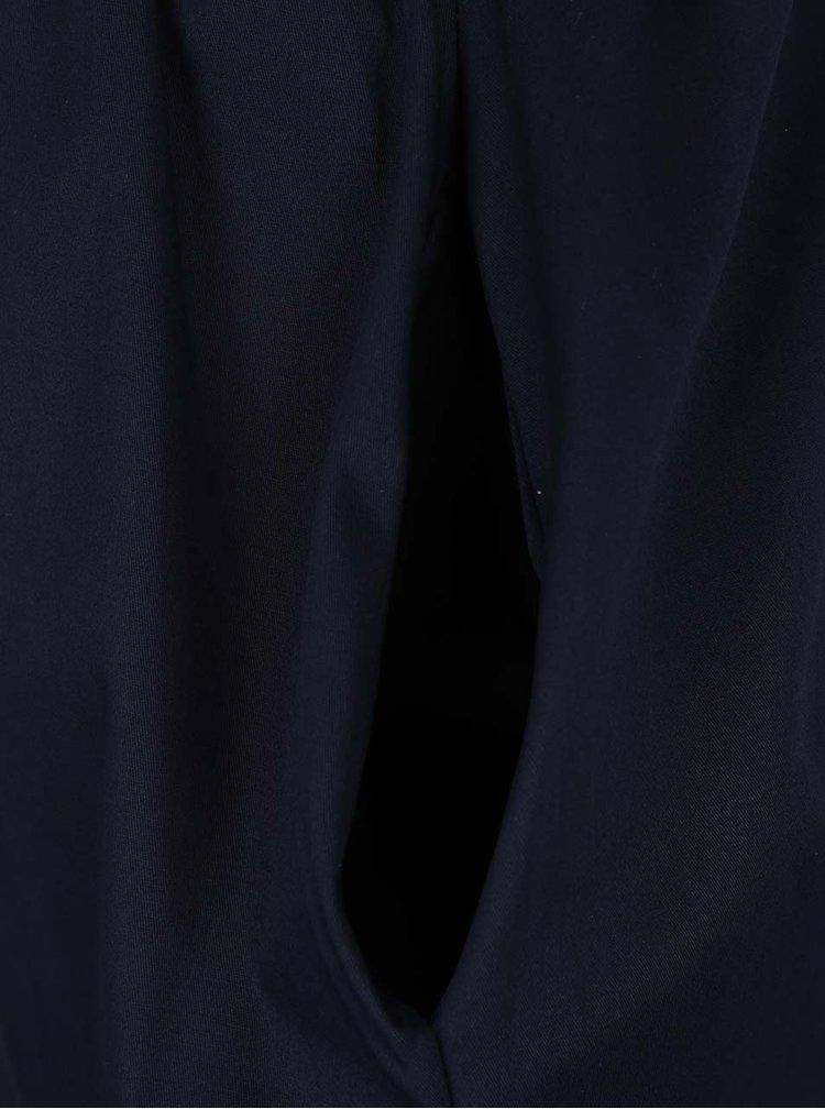 Fustă albastru închis ZOOT cu buzunare oblice