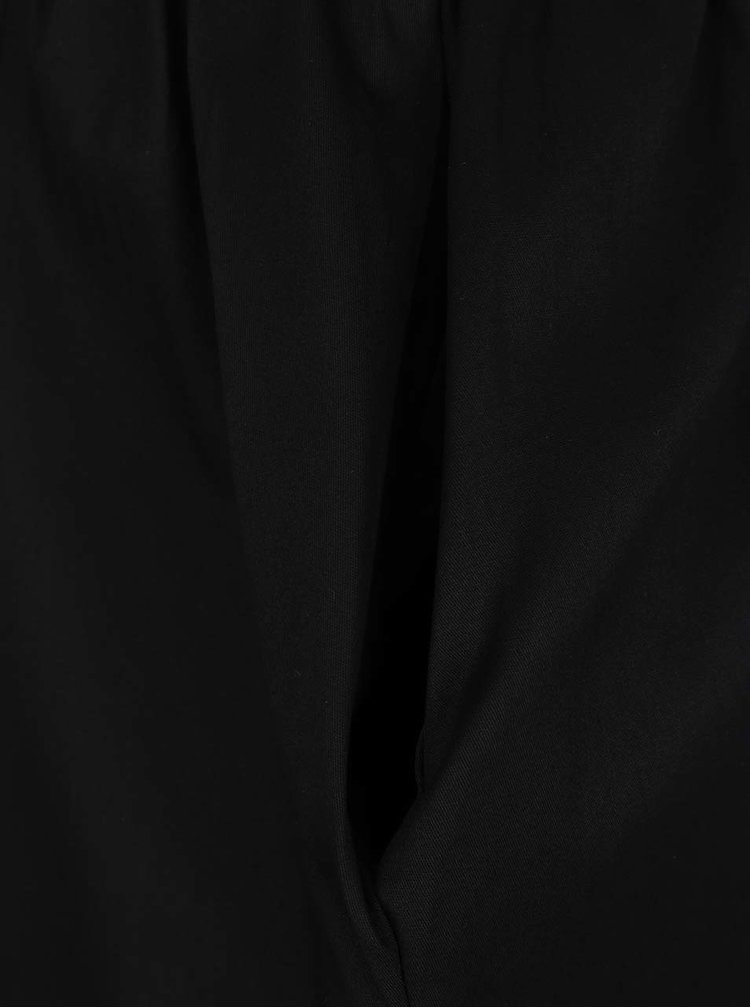 Fusta neagra ZOOT cu buzunare oblice