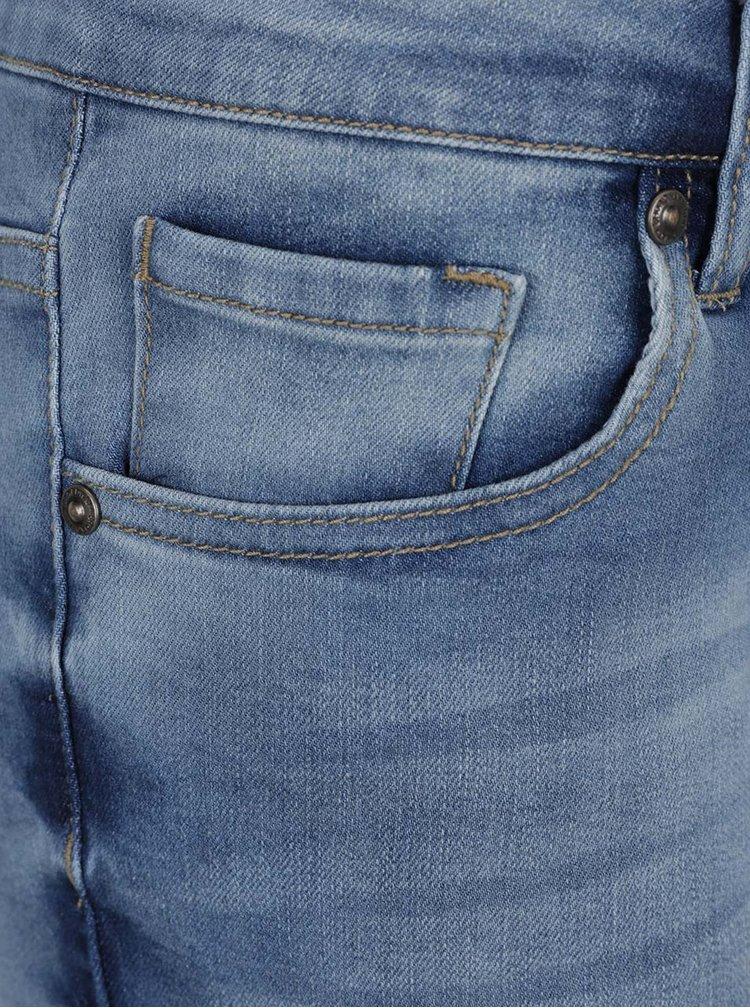 Modré džínové skinny kraťasy Broadway Faiga