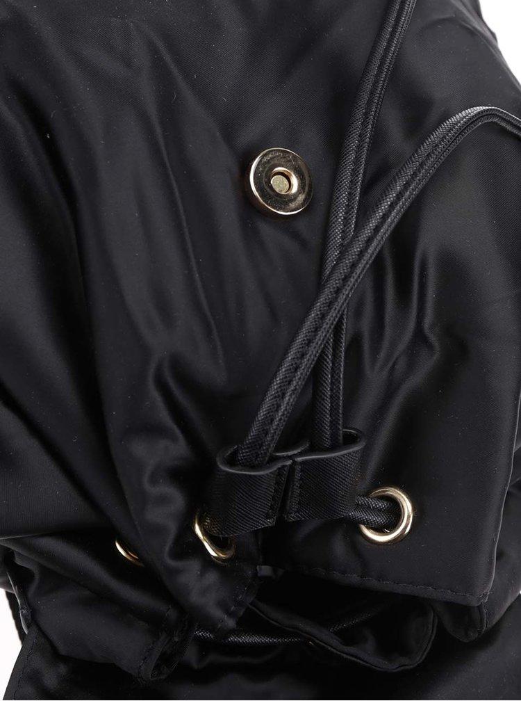 Rucsac negru Haily's Bomba cu buzunare exterioare