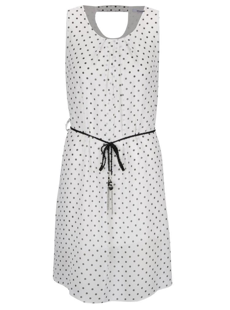 Krémové puntíkované šaty Haily's Lotta