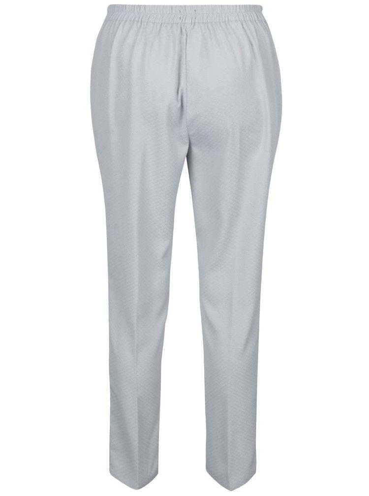 Pantaloni gri deschis cu talie elastica Broadway Danelle