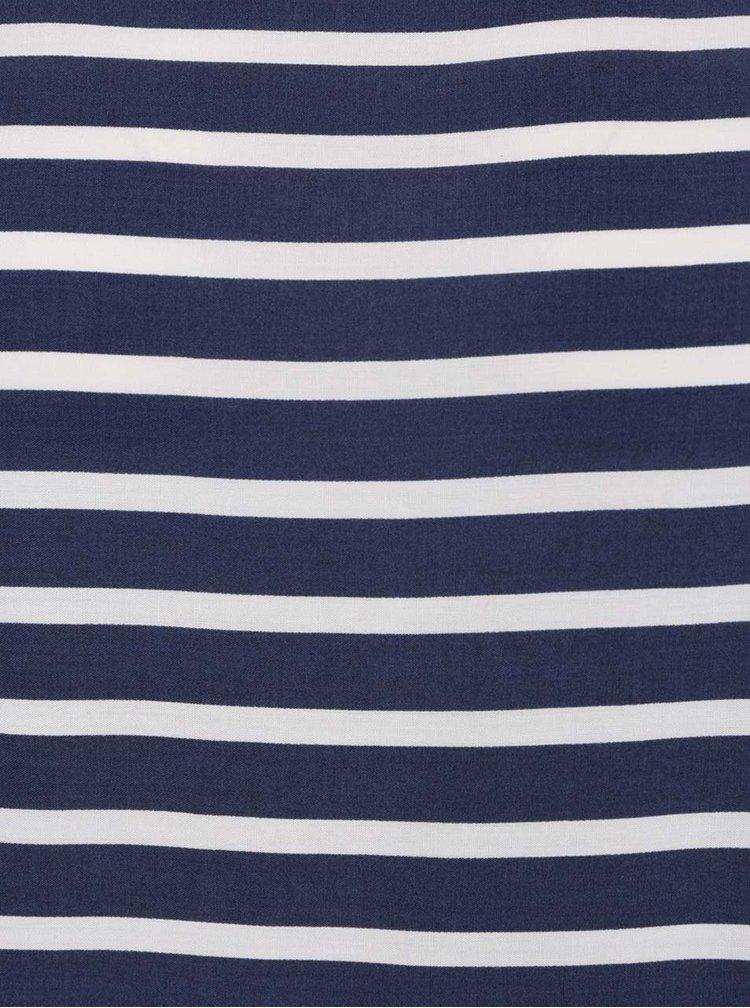 Bluza albastra  Broadway Fifi cu model in dungi